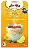 3er Pack Yogi Tee BIO Detox mit Zitrone 17x 1,8g (frachtfreie Lieferung innerhalb Deutschlands ab 20 EUR Einkaufswert) (3)