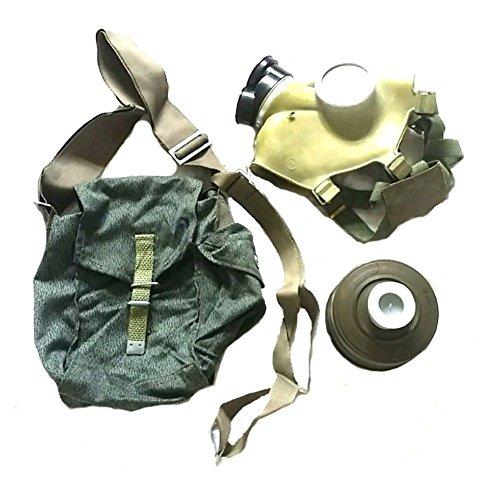 Polnische Schutzmaske MC 1 Gasmaske ABC Schutzmaske Moro Tasche