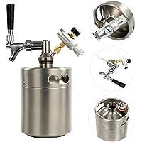 YaeBrew Kit de brassage avec fût de 1,8 litre pour fabriquer votre propre bière