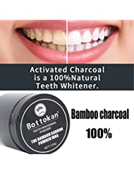 JYC 2019 Activated Charcoal Natural Teeth Whitening Powder, Carbon Coco Organic Charcoal Teeth Whitening Powder Natural Tooth Polish A