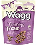 Wagg Training Treats With Chicken, Beef and Lamb 125 g (Pack of 7)