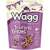 Wagg Training Treats with Chicken Beef & Lamb, 125g