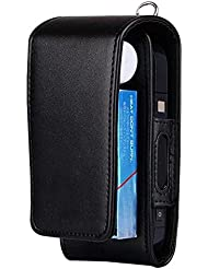 iqos Elektronische Zigarette Schutzhülle Halterung Zigarre iqos Wallet Case Elektronische Zigarette PU Leder Tragetasche Karton mit Karte Halter