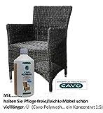 Cavo Polywash Konzentrat zur Pflege von Polyrattan und Hulero-Faser