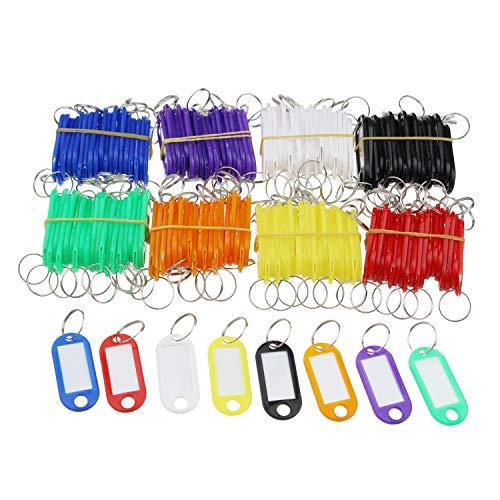Etiquetas de plástico para llaves