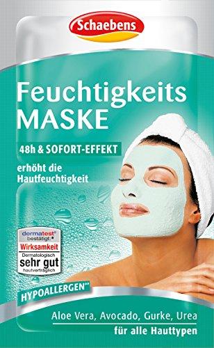 Schaebens Feuchtigkeits Maske, 15er Pack (15 x 10 ml)