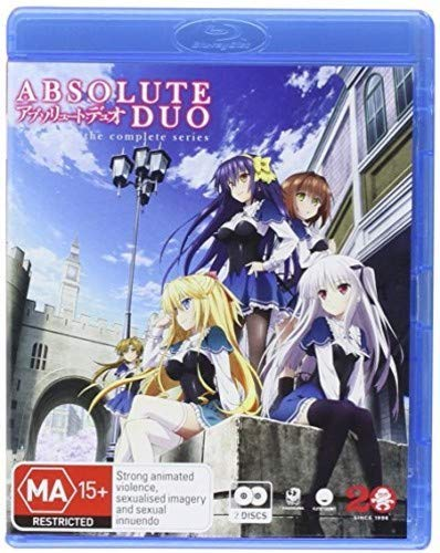 Absolute Duo Complete Series [Blu-ray] [Import italien] -