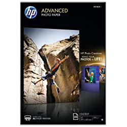 HP - Q8697A - Advanced Photo Paper A3 glace Papier jet d'encre Photo 250g