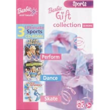 Barbie Gift Collection: 3 Ultimate Sports CD-ROMs (Team Gymnastics, Gotta Groove, Super Sports)
