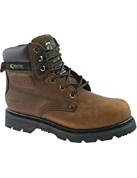 Grafters M538 Unisex Safety Boots In Brown
