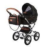 Knorr-Baby Kombi-Kinderwagen Classic Premium schwarz