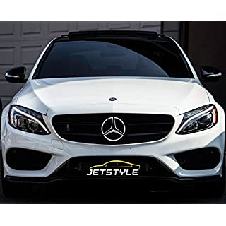JetStyle LED Emblem 2011-2016, Front Car Grill Badge, Auto Illuminated Logo, Glowing Star Lights, White DRL Daytime Running Lights - Drive Brighter
