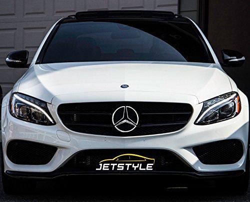 JetStyle LED Emblem 2011-2018 Kühlergrill, Auto Beleuchtetes Zeichen, Leuchtende Stern, Tagfahrlicht Weiß - Fahren Sie heller & schlauer