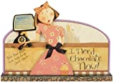 Carson-Home-Accents-19829-Chocolate-Now-Dan-Dipole-Message-Bar,-9-1/3-Inch-By-8-1/2-Inch