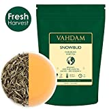 VAHDAM, foglie di tè bianco Snobud di Darjeeling (25 tazze), foglia bianca in foglia staccata proveniente da alture in Himalaya, 50gr