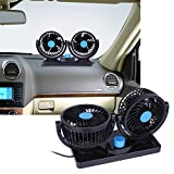 Best 12v Fans - Tomtopp Car 360 °All-Round Adjustable 2 Speed Strong Review