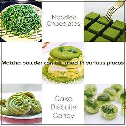 Bio-Matcha-Tee-Pulver-120g-Echter-Bio-Matcha-Ohne-Zustze-rein-natrlich-100-Bio-im-wiederverschliebaren-Beutel-Perfekt-fr-Tee-Matcha-Latte-Matcha-Smoothies-und-mehr