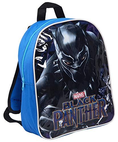 Marvel Black Panther Mochila Escolar para niños, Negro Negro - MNCK9988