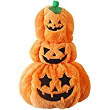 Rrimin Pet Dog Halloween Pumpkin Cosplay Costume Clothes Jacket Coat Apparel(S)