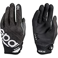 Sparco 002093NR2M Guantes, Negro, M