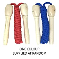Wooden Handle Skipping Rope for Kids by Laeto Toys and Games