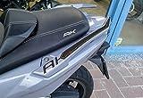 2 Aufkleber Harz Gel Schutz Griffe Kompatibel für Roller KYMCO-ak 550