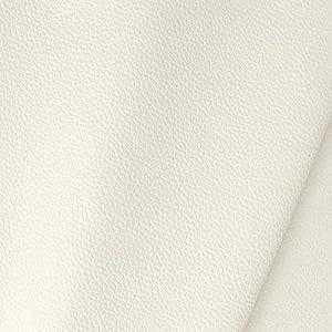 TOLKO Kunstleder Polsterstoff Meterware als Langlebiger Premium Bezugsstoff/Möbelstoff zum Nähen, Polstern und Beziehen, 140cm Breit (Creme)