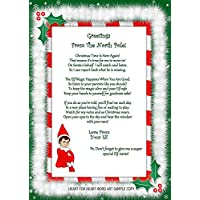 Accessory For Elf On The Shelf, Arrival, Welcome Letter Christmas Gift