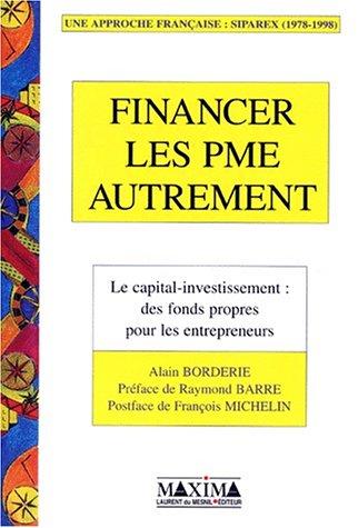 Financer les PME autrement par A. Borderie