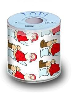 Toilettenpapier Weihnachten MOTIV OH