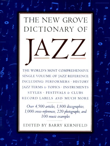 the-new-grove-dictionary-of-jazz