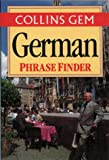 German Phrase Finder (Collins Gem)