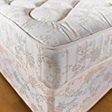 "Hf4you 10"" Orthopaedic Deep Quilted Damask Mattress - 4ft 6"" Double"