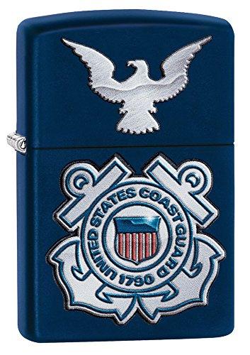 zippo-us-coast-guard-eagle-lighter-navy-matte-finish-windproof-28681