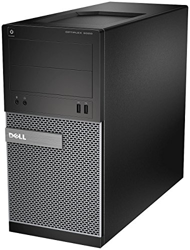 Dell PC Optiplex 3020MT Desktop-PC (Intel Core i5 4590, 3,3GHz, 8GB RAM, 1000GB HDD, Intel HD Graphics 4600, DVD, Win 7 Pro) schwarz