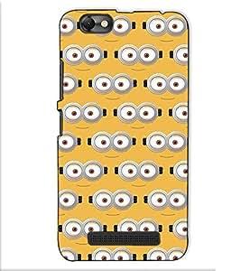 Fuson Designer Back Case Cover for Lenovo Vibe C :: Lenovo A2020 (Banana eyes theme)
