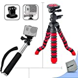 Xtech® 12 Inch Flexible Tripod and Handheld Monopod - Best Reviews Guide