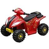 Festnight Kinder Elektro Quad 3 km/h Akku Kinderfahrzeug für Kinder von 3 bis 6 Jahren - Schwarz & Rot