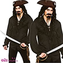 Pirate or Vampire Shirt - Adult Accessory SMALL