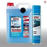 SONAX AntiFrost & KlarSicht Scheibenreiniger 5L Scheiben Enteiser 400ml