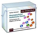 Last Minute Check - Pharmazeutische/Medizinische Chemie: 300 Karteikarten mit Aufgaben und Lösungen - Marlies Miertzsch