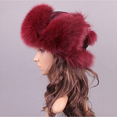 AOURI - Chapka - Femme Rouge - Winered