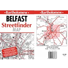 Belfast Streetfinder Map.