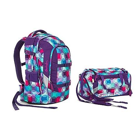Satch Pack - 2tlg. Set Schulrucksack (+Sporttasche) - Hurly Pearly