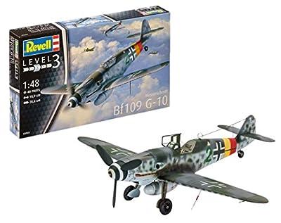 Revell 03958 Modellbausatz Messerschmitt Bf109 G-10 im Maßstab 1:48, Level 3 von Revell