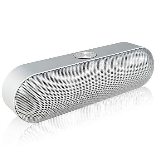 qiyan , Tragbarer Bluetooth-Lautsprecher Drahtloser Stereo-Sound Boombox-Lautsprecher mit Mikrofonunterstützung Tf Aux Fm-Radio USB Altavoz Enceinte-in Tragbare Lautsprecher 1 - Bluetooth Stereo Clarion
