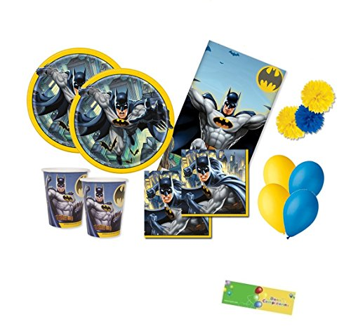 uni-que Kit n.49 Batman gotham coordinato compleanno