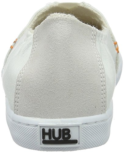 Hub Fuji C06, Espadrilles femme Blanc