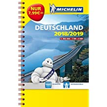 Michelin Kompaktatlas Deutschland 2018/2019 (MICHELIN Atlanten)