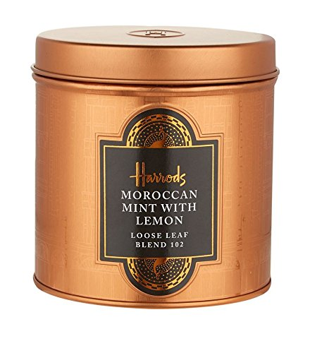 HARRODS of London – Moroccan Mint and Lemon – 125gr Dose (Lose blatt)